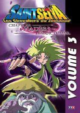 Saint Seiya Capitolo Di Hades, il Santuario Volume 3 DVD NUOVO IMBALLATO