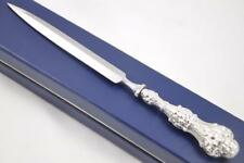CASED CHESTER STERLING SILVER HANDLED LETTER OPENER FITZWALTER PATTERN 1886