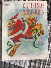 Christmas Cross Stitch Treasures By Joan Elliot 18 Designs