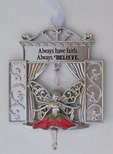 z Always have faith always believe Garden Fairy Window Ornament ganz
