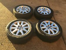 VOLVO s40,v50,c30 alloy wheels ,rim and tyres 205 55 16, 5 x 108 stud pattern