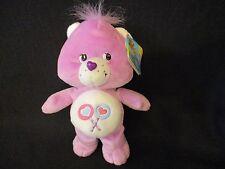 "Care Bears Share Bear Purple Double Lollipop Teddy Plush w/Tag 2002 9"""