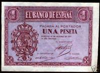 1 Peseta 1937 Burgos @ SIN CIRCULAR @
