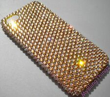 GOLD Crystal Rhinestone Bling Back Case for iPhone 5 made w/ Swarovski Elements