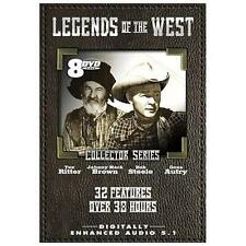 Legends of the West Vol 4 by Roy Rogers, Gene Autry, Tex Ritter, The DVD box se