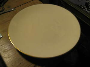 National Airlines Vintage First Class Jackson China Airplane Dessert Plate 1970s