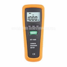 Carbon Monoxide CO Meter Tester Detector Gage HT-1000 LCD Display