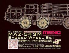 Meng SPS-019 1/35 MAZ-543M russes se décompose en résine roue set