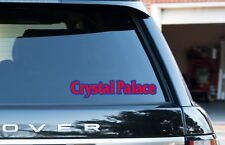 Crystal Palace Ciudad Ventana/Parachoques Vinilo Autoadhesivo Con Coche, Furgoneta, Ipad, paquete de 2