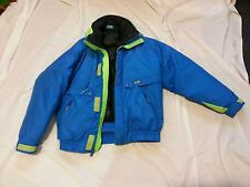 CB Sports size Small ski coat with removable liner and shell blue / green