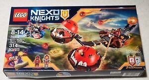 Lego Nexo Knights Beast Master's Chaos Chariot 70314 New & Sealed
