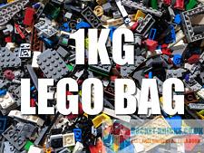 LEGO 1Kg Mixed Bricks, Parts, Pieces, Plates - clean and genuine - Bulk Job Lot