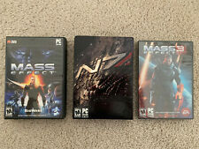 Bioware Mass Effect 1 2 3 complete trilogy for PC include N7 collector's Edition