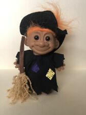 Halloween Witch Troll Vintage 25503
