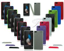 Étuis, housses et coques blancs en silicone, caoutchouc, gel pour téléphone mobile et assistant personnel (PDA) Huawei