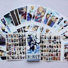 YURI!!! on ICE Katsuki Yuri 30 postcards postal cards + 30 lomo + stickers