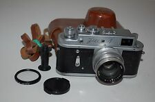 Zorki 4 EXPORT 1964 Soviet Rangefinder Camera Jupiter-8 Lens. 64161527. UK Sale