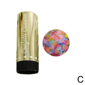 Compressed Air Confetti Cannons Wedding Birthday Baby Hen Shower Poppers Q4T8