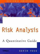 Risk Analysis : A Quantitative Guide by David Vose (2000, Hardcover, Revised)