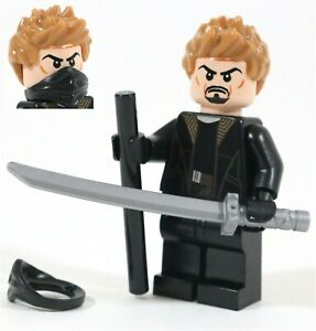 LEGO DARK KNIGHT RA'S AL GHUL MINIFIGURE DC BATMAN - MADE OF GENUINE LEGO PARTS