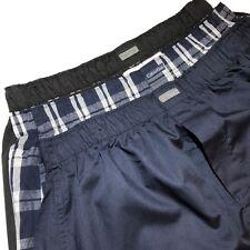 Calvin Klein Boxer Shorts CK Mezcla de Algodón Pijama Pantalones Cortos M 3 Pack