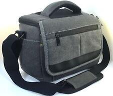 Canvas Camera Case Bag for canon DSLR Rebel 700D D800D 650D 1300D 5D 6D 77D 70D