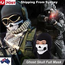 Skull Face Head Bandana Skeleton Mask Neck Tube Scarf Biker Motorcycle Hunting