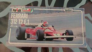 Polistil Club HF 1976 - F1 FERRARI 312 T2 Niki Lauda #1 - Scala 1:16 (Con...