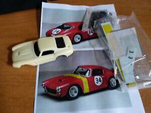 KIT RESINE MADYERO 1/43 FERRARI 250 GT SWB SPA 1962 #34 2179GT