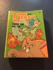 "Big Little Book - ""Tom & Jerry, Under The Big Top""- #57871980"