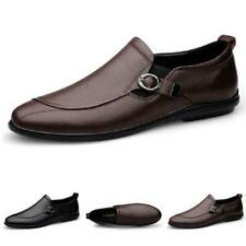 Mens Low Top Driving Moccasins Shoes Pumps Slip on Loafers Business Breathable L