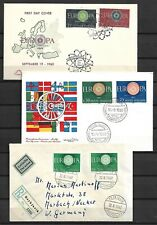Europa Cept - 1960 Cover Collection - 12 stk. - VF !!!!!  (A2083)