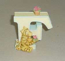 Disney Classic Winnie the Pooh Letter F TIGGER Baby Room Decor Initial Flowers