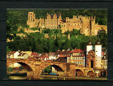 Heidelberg - Schloß und alte Brücke    (BW64)