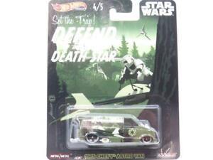 Hot Wheels Star Wars 1985 Chevy Astrovan Speeder Long Carte 1 64 Echelle Scellé