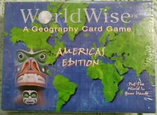 World Wise Americas Edition A Geography Card Game - Brand New Sealed