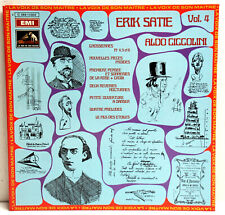 "12"" Vinyl - ERIC SATIE Vol.4 - Aldo Ciccolini (Piano)"