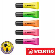 STABILO Neon Highlighter Pen Set  Assorted Colours highlighter pens colours