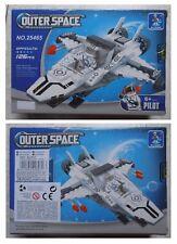 Costruzioni Outerspace, astronave spaziale, 126 mattoncini compatibili Lego