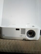 NEC Projector model NP510W Multimedia **Lamp 0 hours of use**