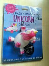 BNIP New Colour Changing Light Up Unicorn Bath Plug with LED Lights