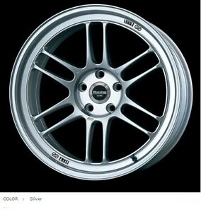 ENKEI Racing RPF1 18x7.5J +48 Silver set of 4 for TOYOTA Scion FR-S/SUBARU BRZ