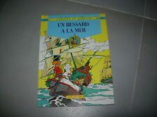 godaille et godasse un hussard à la mer n°4 de cauvin et sandron