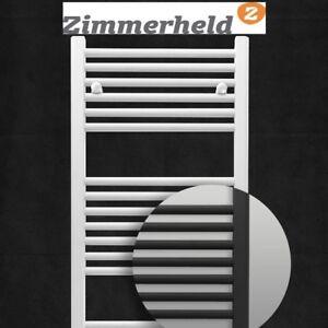Zimmerheld Badheizkörper Heat Basic Universal Heizkörper Handtuchheizung in Weiß