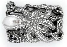 Schließe Buckle Gürtel-Schnalle Wechselschließe Tintenfisch Qualle Oktopus Krake