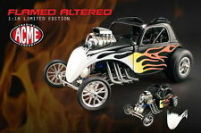 1:18 GMP FIAT HEMI Fuel ALTERED Acem Negro flamed 1/996