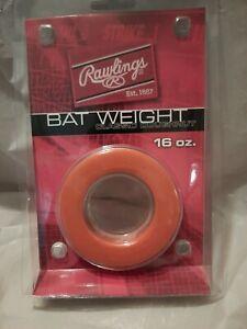 Rawlings Orange Classic Doughnut Style Bat Weight (16 oz)