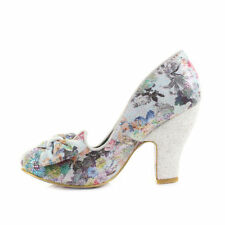 Party Floral Synthetic Heels for Women