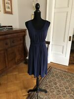 NWT Tommy Bahama Blue Tambour Grecian Dress sleeveless Tank Dress S (4/6)