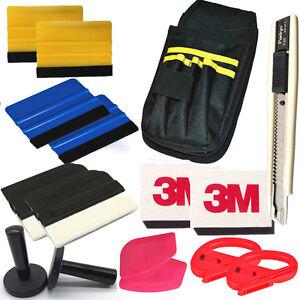 Car Vinyl Wrap Tool Window Tint Kit for Auto Film Tinting Scraper Application